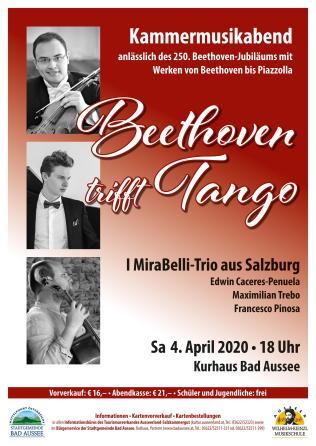 Plakat Beethoven trifft tango